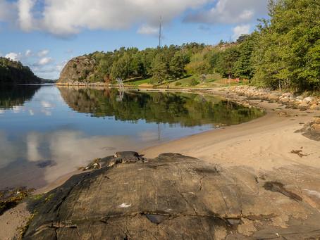 Strömstad - the beach Hålkedalsbadet