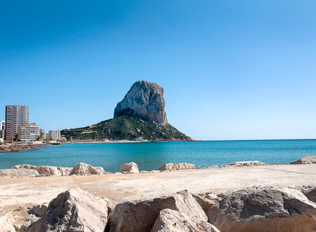 Calpe - the climbing and the view