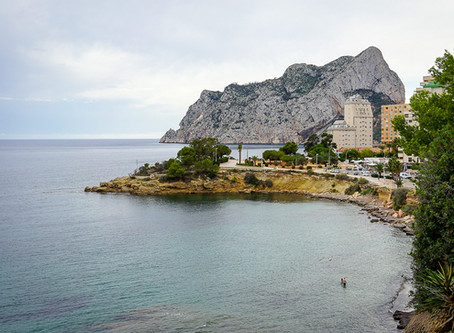 Calpe - From Cala Caleta to Cala Advocat