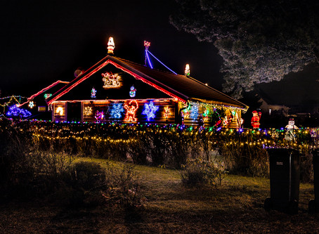 The Christmas house in Ski