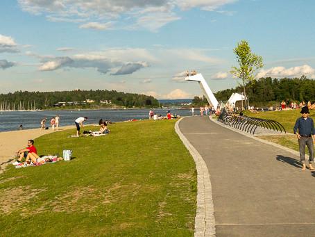 Sandvika - nye Kadettangen
