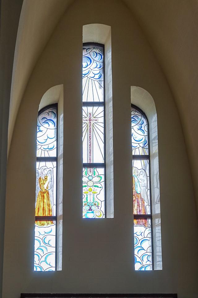 Malte glass i kirken Santuario Santa Maria Magdalena