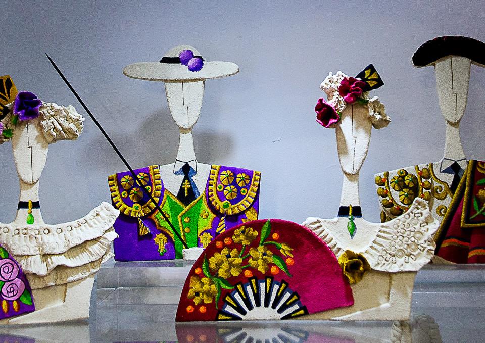 Kunstgjenstander fra en av kunsthåndverksbutikkene i Altea