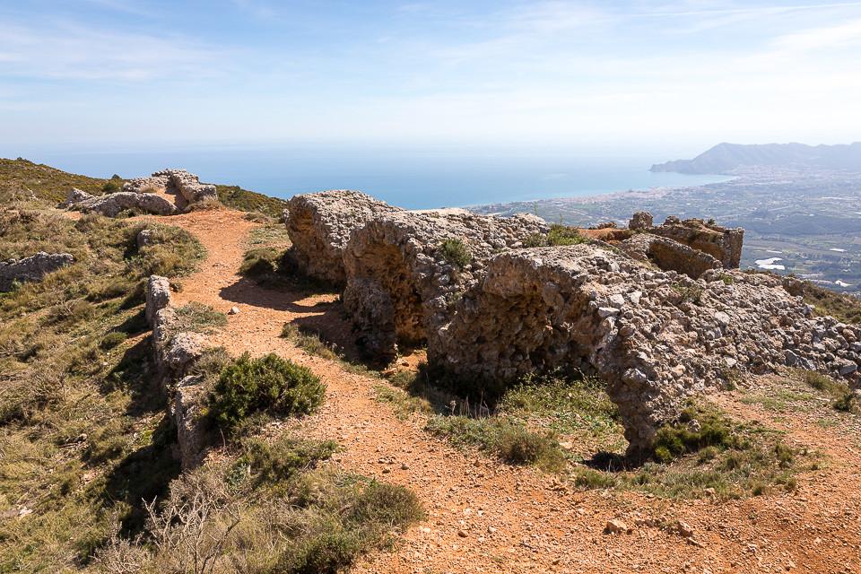 Ruiner etter Fort de Bernia