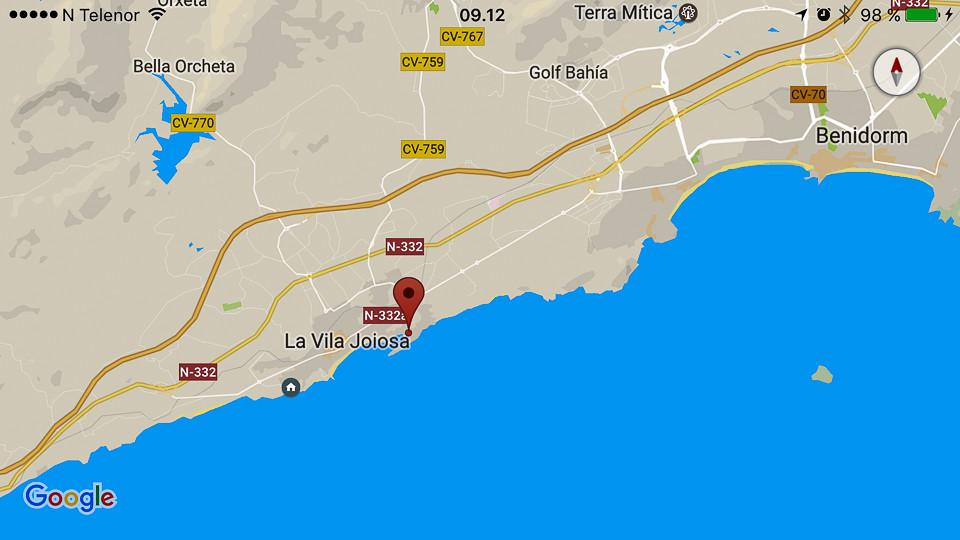 Villajoyosa Benidorm Path With Sea View And Surprises