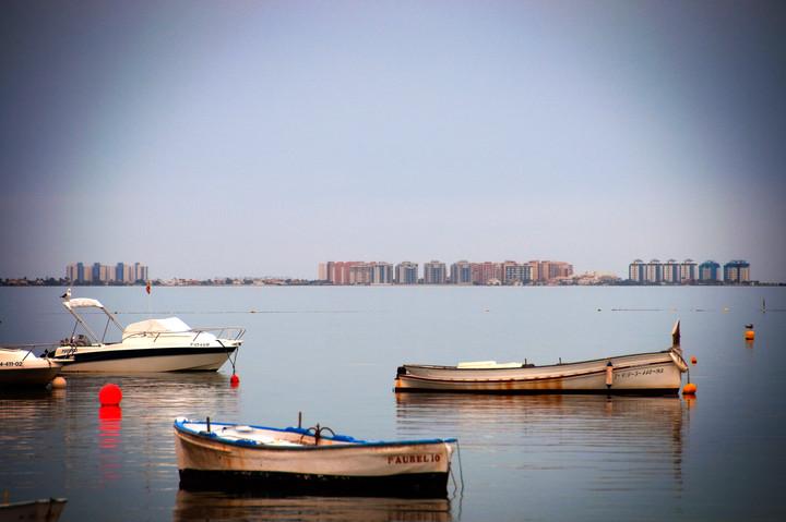 Fiskebåter i Mar menor