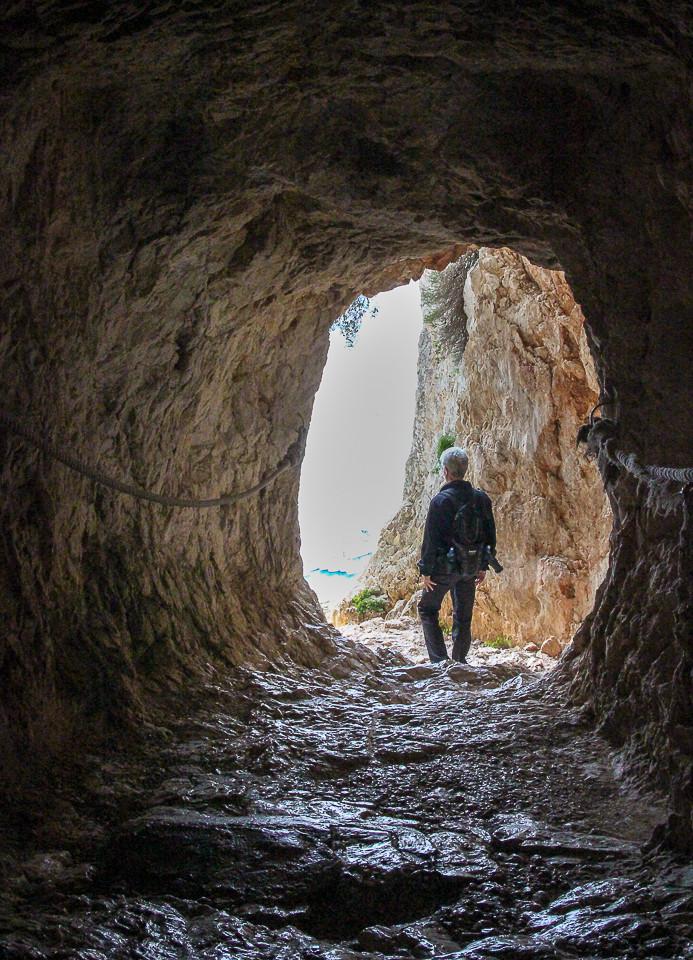 Tunnel i Calpe-klippen