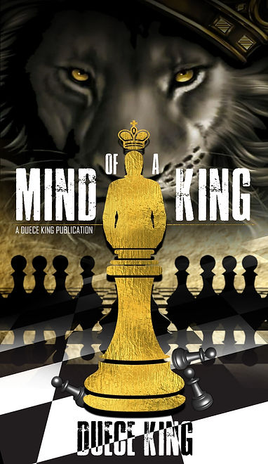 MIND OF A KING NOVEL COVER