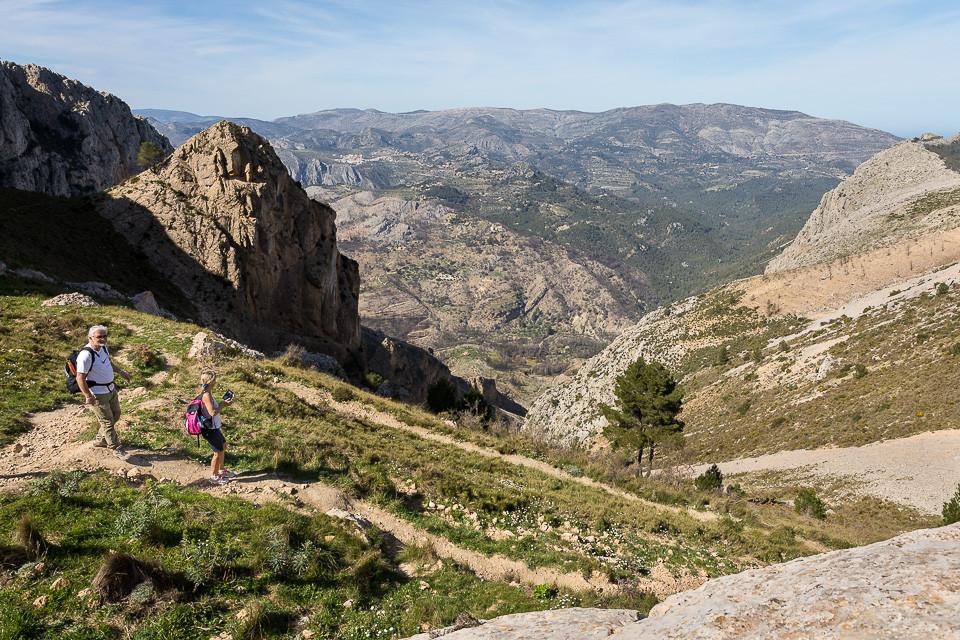 Stien etter Fort de Bernia
