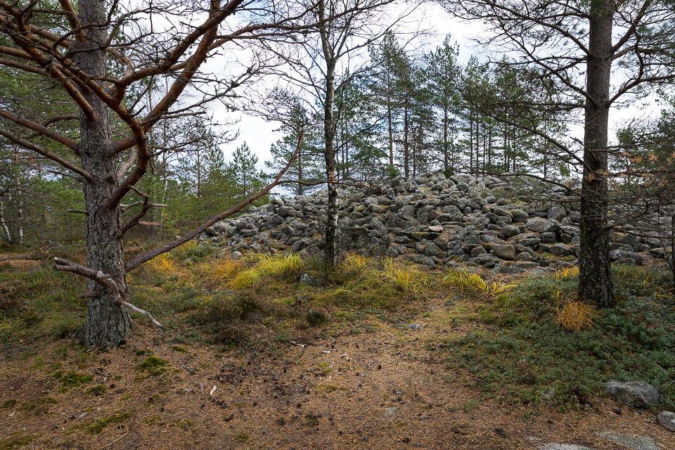 Gravplass fra bronsealderen på Bjørnerødpiggen