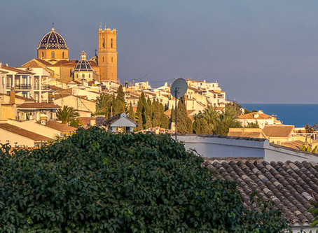 Altea - artists' village