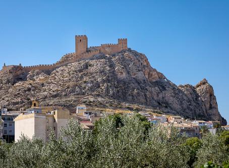 Valle de Vinalopó - from castle to castle