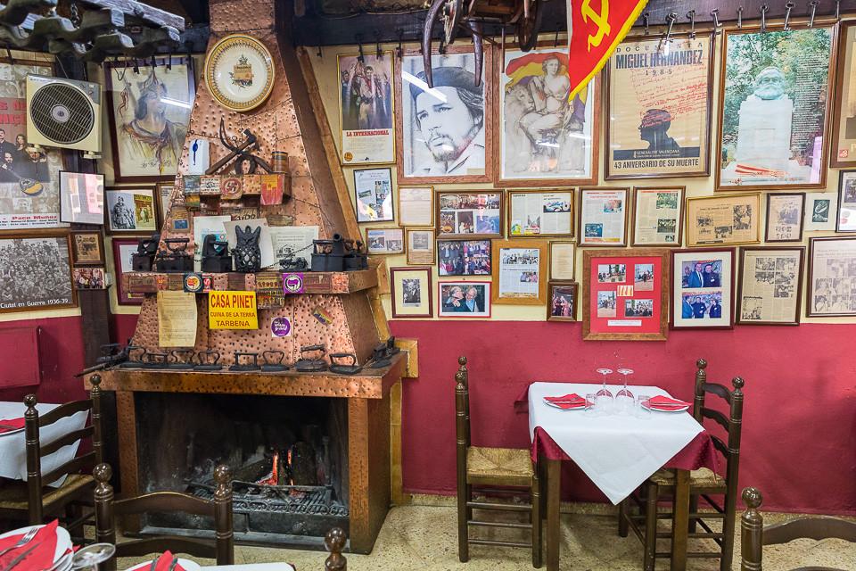 Bilder i restauranten Casa Pinet