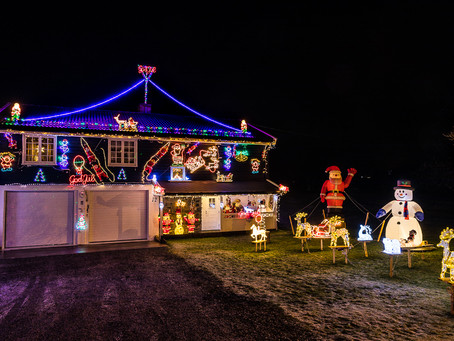 Casa de Navidad en Ski