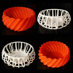 A couple of bowls with a twist__#sydney3d #sydney3dp #sydney3dprint #sydney3dprinting #3dprint #3dpr