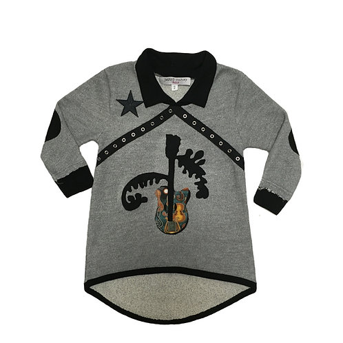 Flying Guitar Dress/French Terry