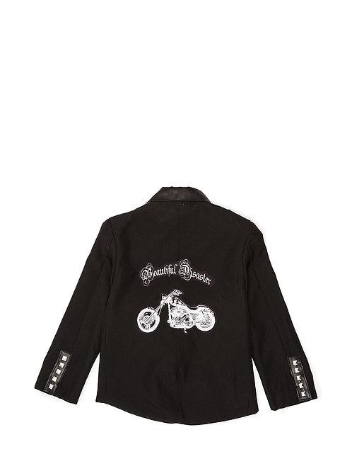 Motorcycle tuxedo jacket