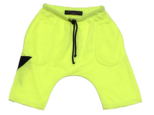 Neon Lightening Bolt Short Baggies