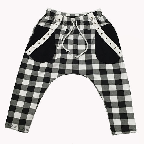 Checker Punk Long Pant