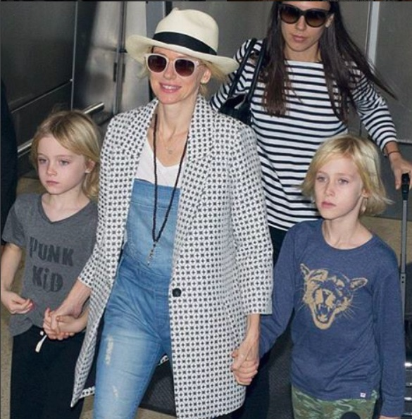 Naomi Watts & kids