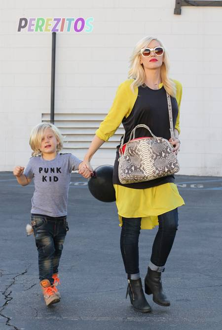 Gwen Stefani and son Zuma Rossdale