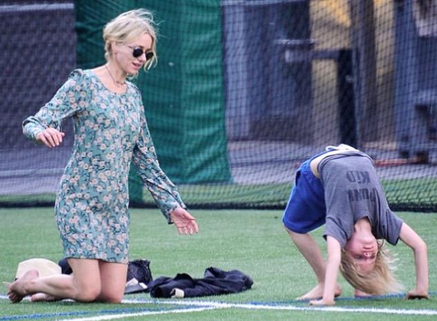 Naomi Watts & son Samuel Kai