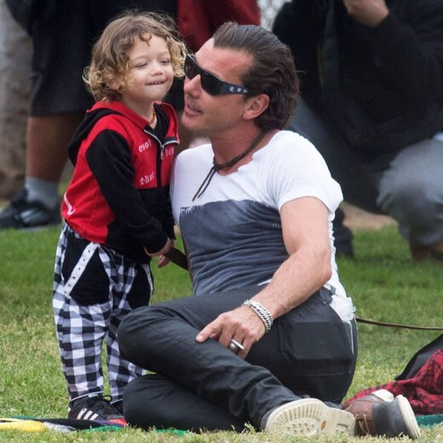 Gavin Rossdale & Son Apollo