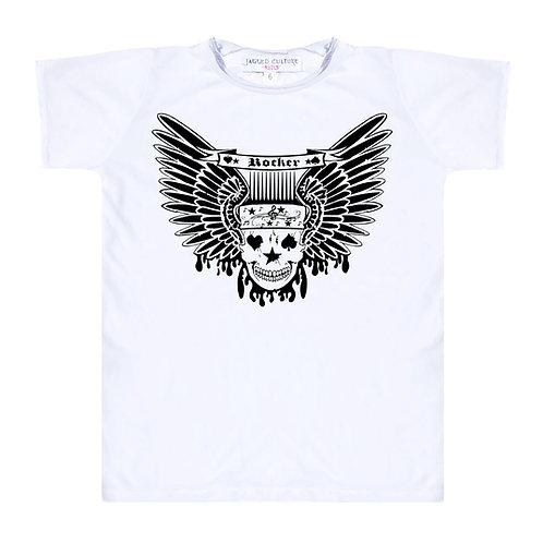 Rocker/Skull Wings T-Shirt