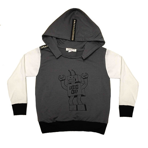 Robot Pullover Hoodie