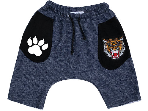 Tiger Patch Paw Print Short Baggies