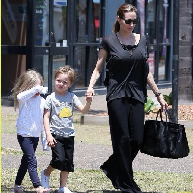 Knox Jolie Pitt Angelina Jolie