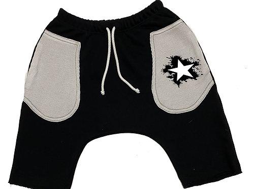Star Splatter Short Baggies/Thermal Pockets