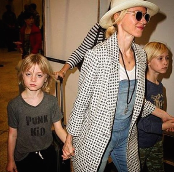 Naomi Watts and kids