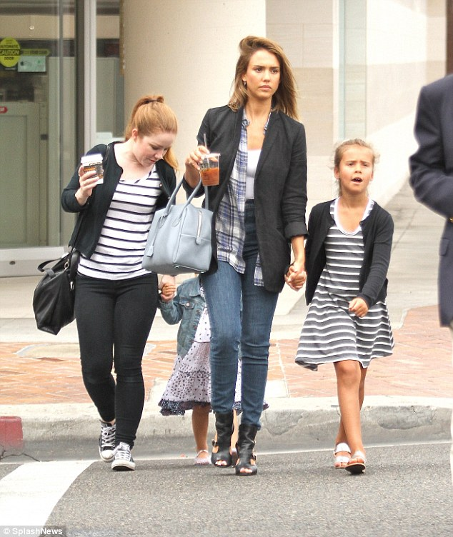 Jessica Alba, Honor & Haven Warren