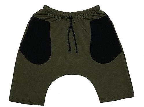 Army Green Short Baggies