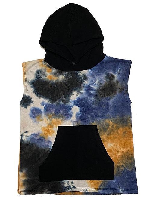 Cody S/L Tie Dye Pullover Hoodie
