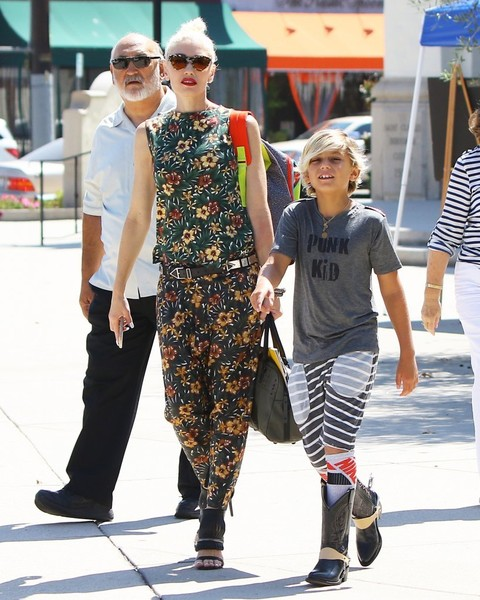 GwenStefani & Son Kingston Rossdale