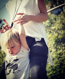 Olivia Wilde & son Otis Alexander