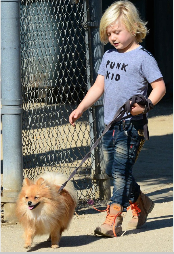 Zuma Rossdale wearing Punk Kid Tee