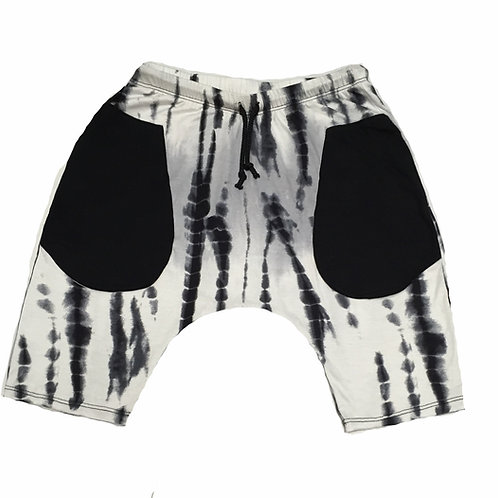 Skeleton Bone Tie Dye Short Baggies (prerelease)