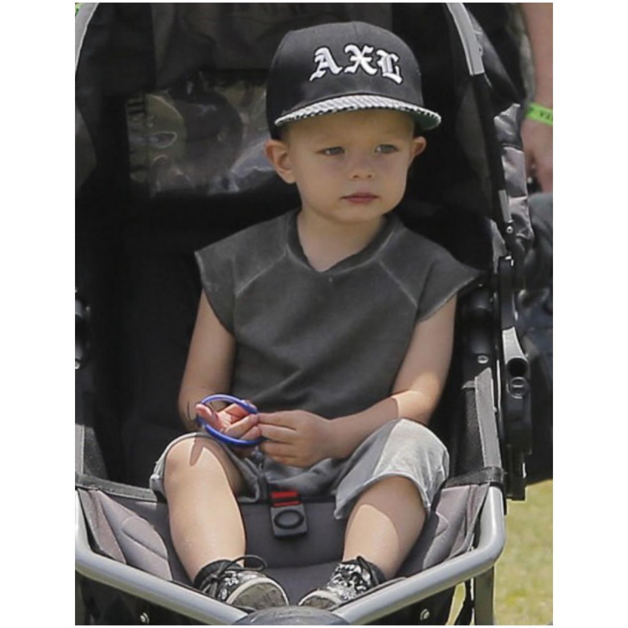 Josh Duhamel & son Axl Jack