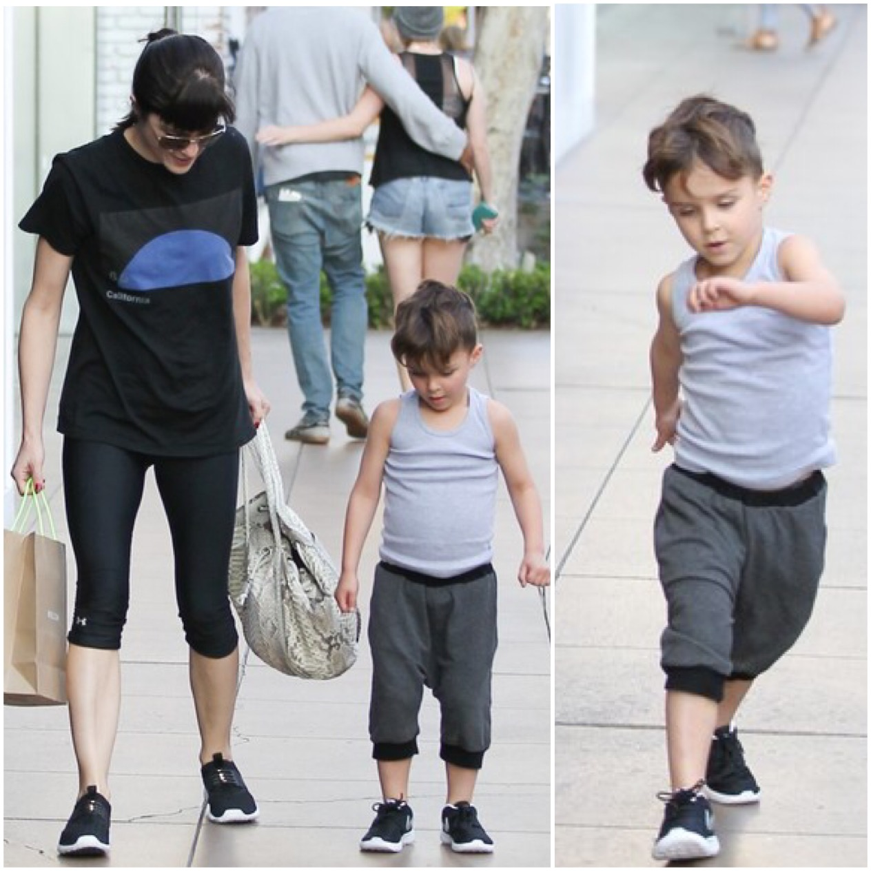 Selma Blair & Son Arthur Saint