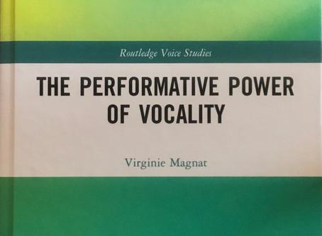 Lo poder performatiu de la vocalitat, de Virginie Magnat