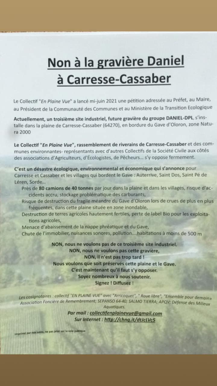 texte petition tèxte peticion