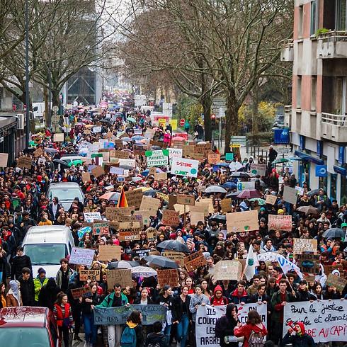 Loi Climat Marche pour l'après Salies Lei Climat Camina per l'après Salias