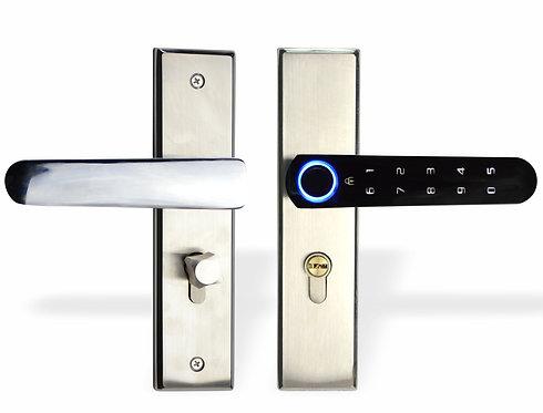 Fechadura Digital Biométrica Senha Touch Chave Perx