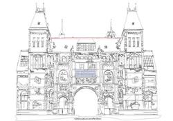 12 dec Rijksmuseum outline