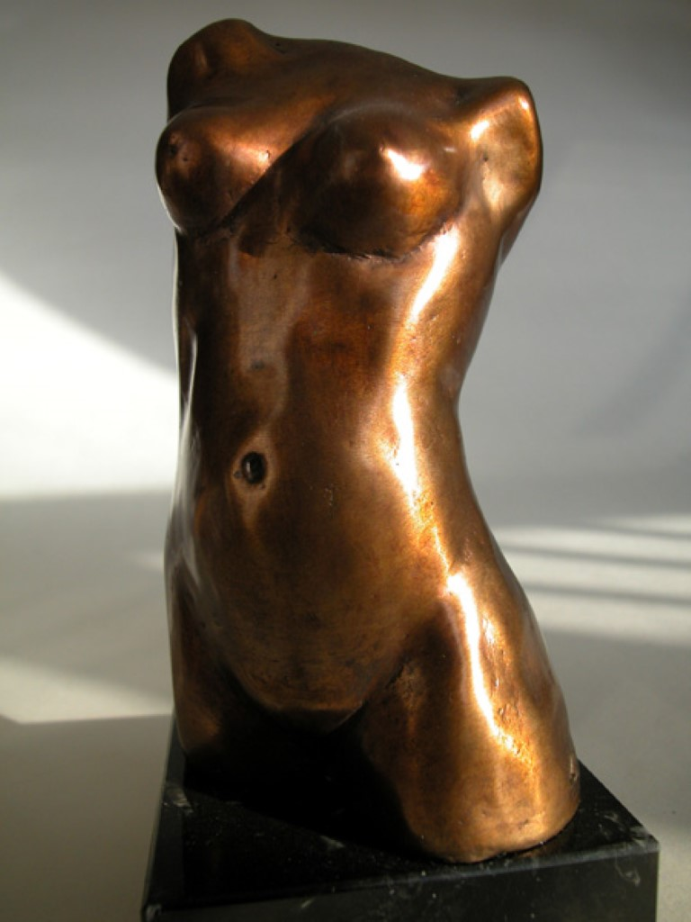 Bronzen-beeld-Torso-vrouw-e (Middel)
