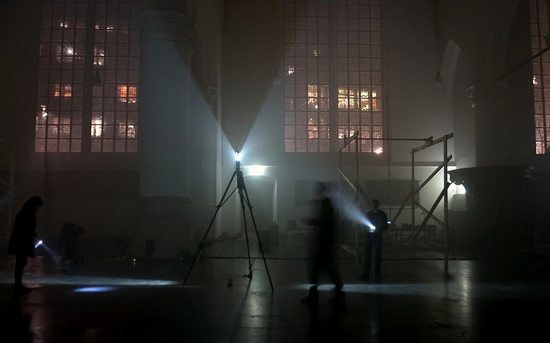 LFS-draailicht Grote Kerk den Haag