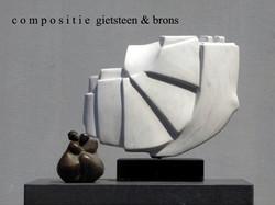 Gietsteen en brons